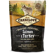 Carnilove salmon & turkey for large breed adult 1,5kg - Granule pro psy