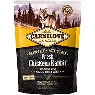 Carnilove fresh chicken & rabbit muscles, bones & joints for adult dogs 1,5kg - Granule pro psy