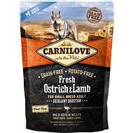 Carnilove fresh ostrich & lamb excellent digestion for small breed dogs 1,5 kg - Granule pro psy