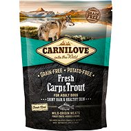 Carnilove fresh carp & trout shiny hair & healthy skin for adult dogs 1,5 kg - Granule pro psy