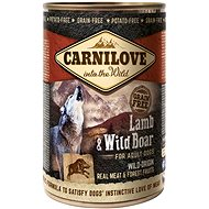 Carnilove wild meat lamb & wild boar 400 g - Canned Dog Food