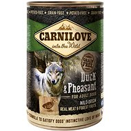 Carnilove wild meat duck & pheasant 400 g - Canned Dog Food