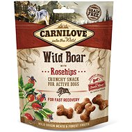 Carnilove dog crunchy snack wild boar with rosehips with fresh meat 200 g - Pamlsky pro psy