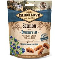 Carnilove dog crunchy snack salmon with blueberries with fresh meat 200 g - Pamlsky pro psy