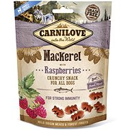 Carnilove dog crunchy snack mackerel with raspberries with fresh meat 200 g - Pamlsky pro psy
