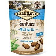 Carnilove Dog Semi-moist Sardines Enriched with Wild Garlic 200g - Dog Treats