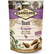 Carnilove dog semi moist snack quail enriched with oregano 200 g - Pamlsky pro psy