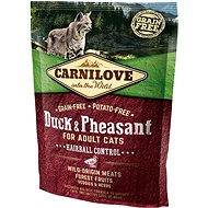 Carnilove duck & pheasant for adult cats – hairball control 400 g