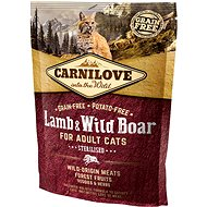 Carnilove lamb & wild boar for adult cats – sterilised 400 g