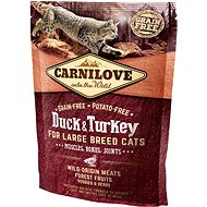 Carnilove duck & turkey for large breed cats – muscles, bones, joints 400 g - Granule pro kočky