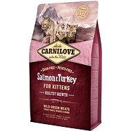 Carnilove salmon & turkey for kittens – healthy growth 2 kg - Granule pro koťata
