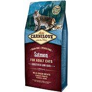 Carnilove salmon for adult cats – sensitive & long hair 6kg - Granule pro kočky