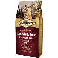 Carnilove lamb & wild boar for adult cats – sterilised 6 kg - Granule pro kočky
