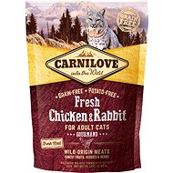 Carnilove fresh chicken & rabbit gourmand for adult cats 400 g - Granule pro kočky