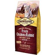 Carnilove fresh chicken & rabbit gourmand for adult cats 6kg - Granule pro kočky