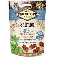 Carnilove cat crunchy snack salmon with mint with fresh meat 50 g - Pamlsky pro kočky