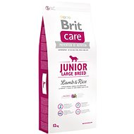 Brit Care junior large breed lamb & rice 12 kg - Granule pro štěňata