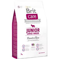 Brit Care junior large breed lamb & rice 3 kg - Granule pro štěňata
