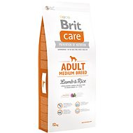 Brit Care adult medium breed lamb & rice 12 kg - Granule pro psy