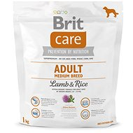 Brit Care Adult Medium Breed Lamb & Rice 1 kg - Granule pro psy