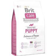Brit Care grain-free puppy salmon & potato 3 kg - Granule pro štěňata