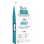Brit Care grain-free adult salmon & potato 12 kg - Granule pro psy