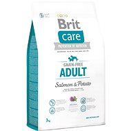 Brit Care grain-free adult salmon & potato 3 kg - Granule pro psy