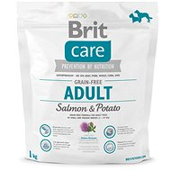 Brit Care grain-free adult salmon & potato 1 kg - Granule pro psy