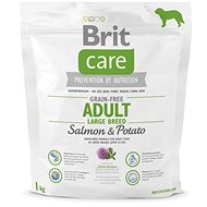 Brit Care grain-free adult large breed salmon & potato 1 kg - Granule pro psy