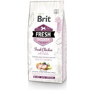 Brit Fresh chicken with potato puppy healthy growth 12 kg - Granule pro štěňata