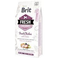 Brit Fresh chicken with potato puppy healthy growth 2,5 kg - Granule pro štěňata