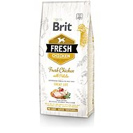 Brit Fresh chicken with potato adult great life 12 kg - Granule pro psy