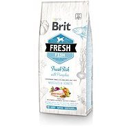 Brit Fresh fish with pumpkin adult large 12 kg - Granule pro psy