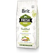 Brit Fresh duck with Millet Active Run & Work 12 kg - Granule pro psy