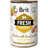 Brit Fresh chicken with sweet potato 400 g