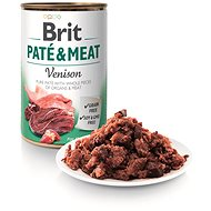 Brit Paté & Meat Venison 400 g  - Konzerva pro psy