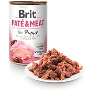 Brit Paté & Meat for Puppy 400g - Canned Dog Food