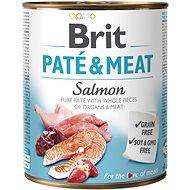 Brit Paté & Meat Salmon 800 g - Konzerva pro psy
