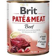 Brit Paté & Meat Beef 800 g - Konzerva pro psy