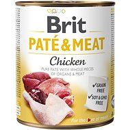 Brit Paté & Meat Chicken 800g - Canned Dog Food