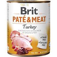 Brit Paté & Meat Turkey 800 g - Konzerva pro psy