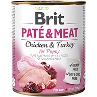 Brit Paté & Meat Puppy 800g - Canned Dog Food