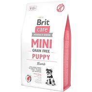 Brit Care mini grain free puppy lamb 2 kg - Granule pro štěňata