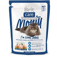 Brit Care Cat Monty I´m Living Indoor 0,4kg - Granule pro kočky