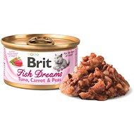 Brit Fish Dreams Tuna, Carrot & Pea 80 g - Konzerva pro kočky
