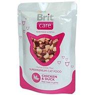 Brit Care Cat Chicken & Duck Pouch 80 g - Kapsička pro kočky