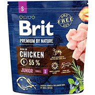 Brit Premium by Nature Junior S 1 kg - Granule pro psy