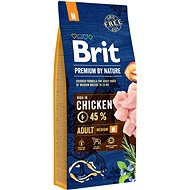Brit Premium by Nature Adult M 15kg - Kibble for Dogs