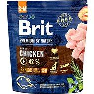 Brit Premium by Nature Senior S+M 1 kg - Granule pro psy