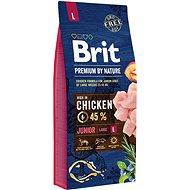 Brit Premium by Nature Junior L 15 kg - Granule pro psy